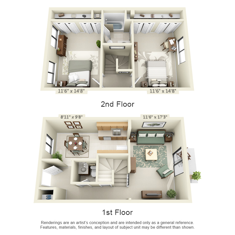 2 Bedroom Apartments In Nyc: Spanish Gardens Apartments